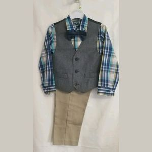 NWT Izod Boys 4T 4 Piece Suit MSRP $54